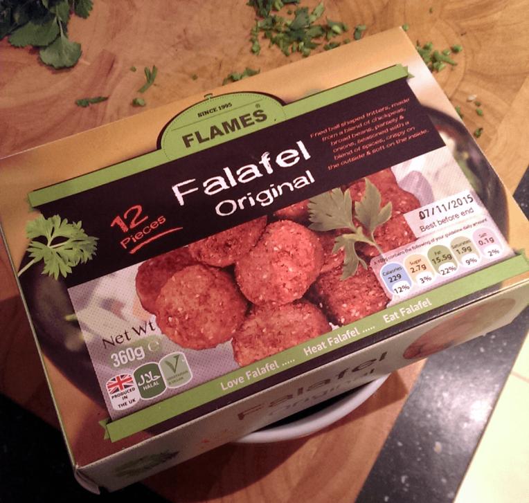 Flames brand Falafel