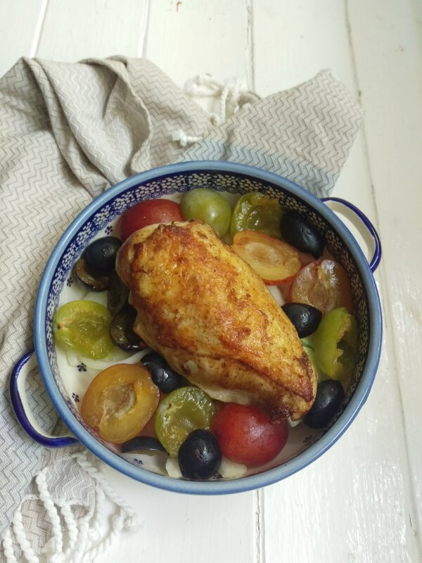 browned-chicken-plums